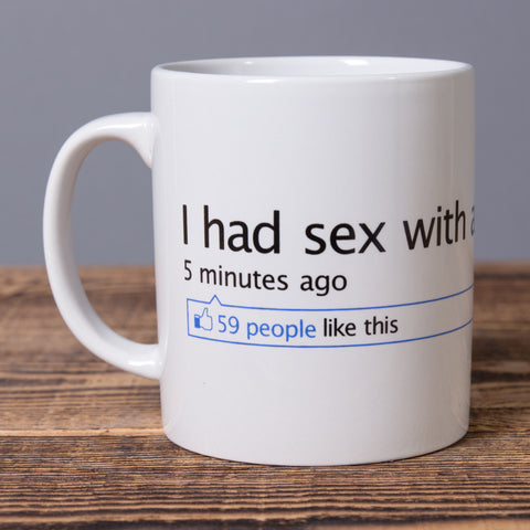 I Had Sex With an Elf in Iceland - Ceramic Mug - White