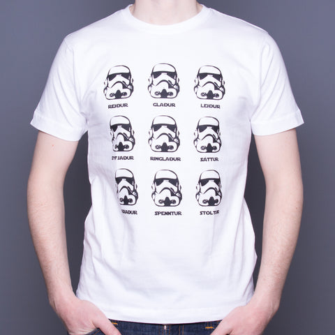 Stormtrooper feelings (Icelandic) - T-Shirt - White