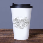 Old Iceland Map - Travel Mug - White