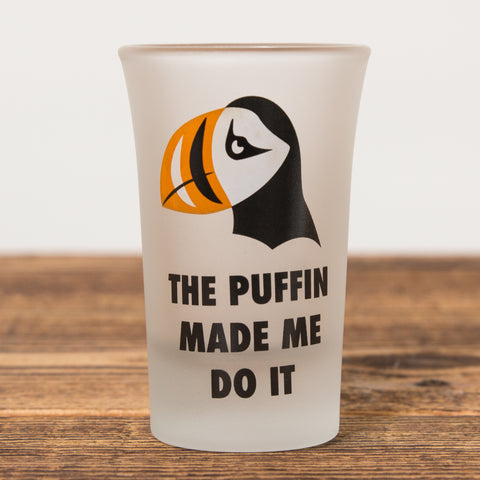 The Puffin - Shot Glass