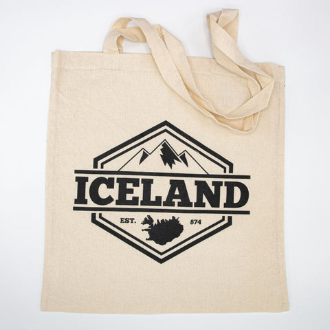 Tote Bag - Iceland Mountains