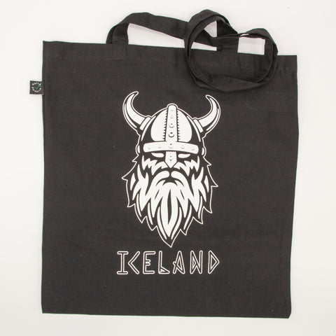Tote Bag - Viking Iceland - Black