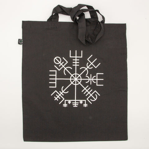 Tote Bag - Wayfinder Rune - Black