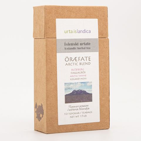 Icelandic Herbal Tea from Urta - Öræfate - Arctic Blend - Idontspeakicelandic