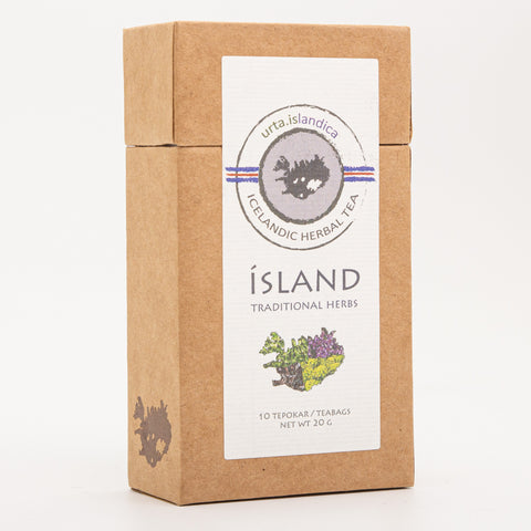 Icelandic Herbal Tea from Urta - Iceland Tea - 10 Teabags - Idontspeakicelandic