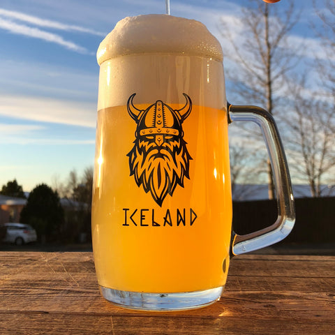 Viking Iceland Beer Mug 0,5 L