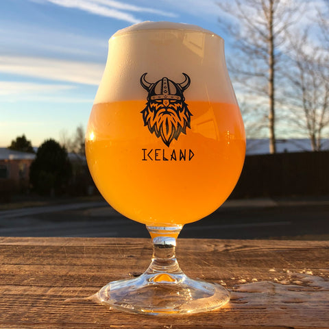 Viking Iceland - Beer Glass 0,4 L