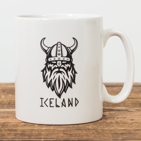 Viking Iceland - Ceramic Mug - White