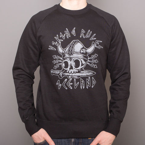 Unisex Pullover - Viking Rules - Black