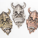 Viking Wall Mounted - Bottle Opener - Gold - Idontspeakicelandic