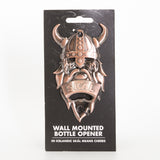 Viking Wall Mounted - Bottle Opener - Bronze - Idontspeakicelandic