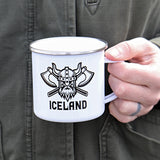 Viking Axes - White Camping Mug