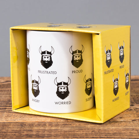 Viking Feelings - Mug in a Box - White - Idontspeakicelandic