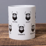 Viking Feelings - Ceramic Mug - White - Idontspeakicelandic