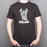 The Viking - T-Shirt - Black - Idontspeakicelandic