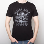 Viking Rules - T-Shirt - Black - Idontspeakicelandic