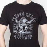 Viking Rules - T-Shirt - Black