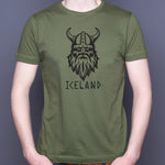 Viking Iceland - T-Shirt - Forest Green