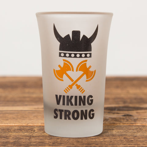 Viking Strong - Shot Glass - Idontspeakicelandic