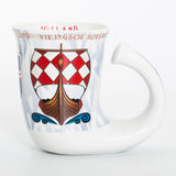 Vikings of Iceland - Ceramic Mug - White - Idontspeakicelandic