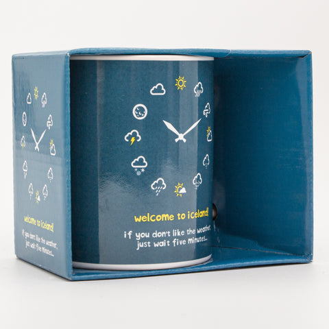 If You Don't Like the Weather  - Mug in a Box - Blue - Idontspeakicelandic
