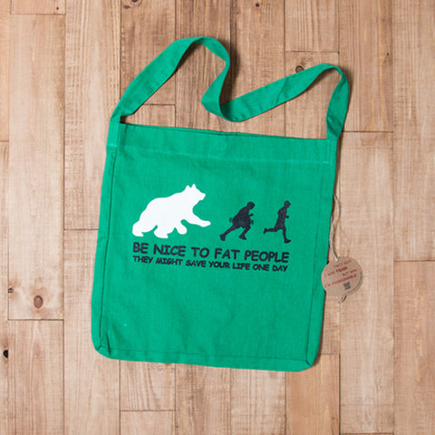 Fat People - Tote Bag - Kelly Green