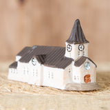 Brun Church - Ceramic Decor House Figurine - Idontspeakicelandic