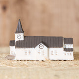 Brun Church - Ceramic Decor House Figurine