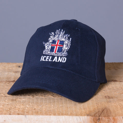 Icelandic Coat of Arms - Cap