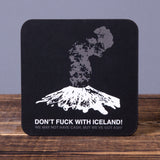 Don't Fuck With Iceland - Set of 6 Cork Coasters - Idontspeakicelandic
