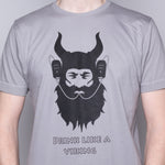 Drink Like a Viking - T-Shirt - Light Gray