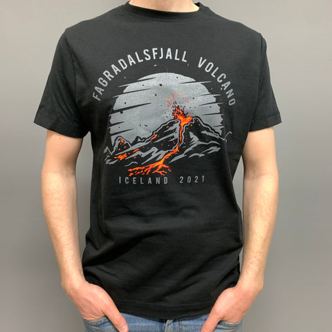 Fagradalsfjall Volcano Night - T-shirt