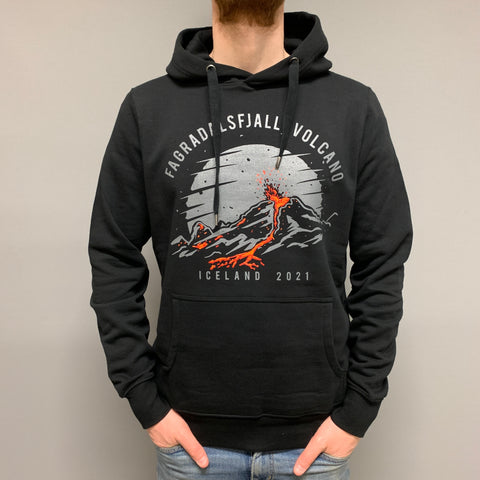 Fagradalsfjall Night - Unisex Hoody