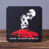 Land of Fire and Ice - Set of 6 Cork Coasters - Idontspeakicelandic