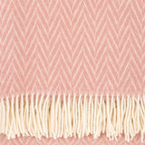 Iida - Quality Wool Blanket from Finland - Rosa