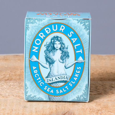 Flaky Sea Salt (250gr) from Norðursalt - Idontspeakicelandic