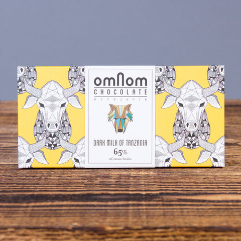 Omnom Chocolate, 65%, Dark Milk of Tanzania