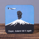 Oops - Set of 6 Cork Coasters