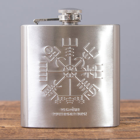 Wayfinder Rune - Hip Flask