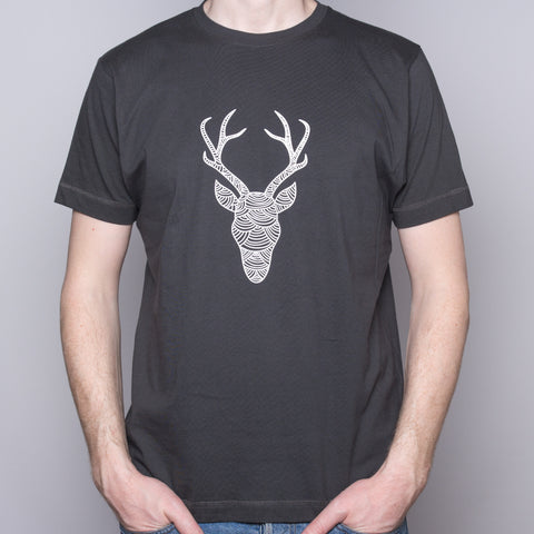 Reindeer - T-shirt - Dark Gray
