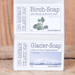 Volcano, Birch and Glacier Soap - Handkrafted Icelandic Soap's - Idontspeakicelandic