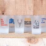 Drink Like a Viking - Shot Glass - Idontspeakicelandic