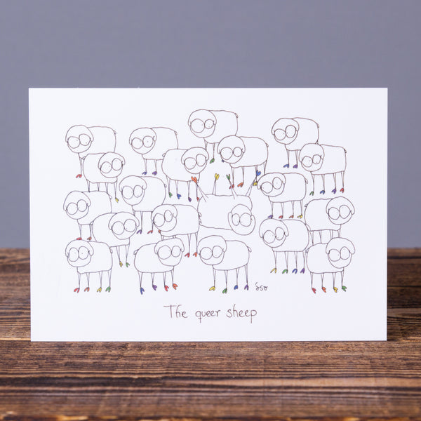 Postcard - Queer Sheep
