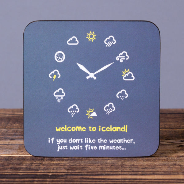 If You Don't Like the Weather - Cork Coaster