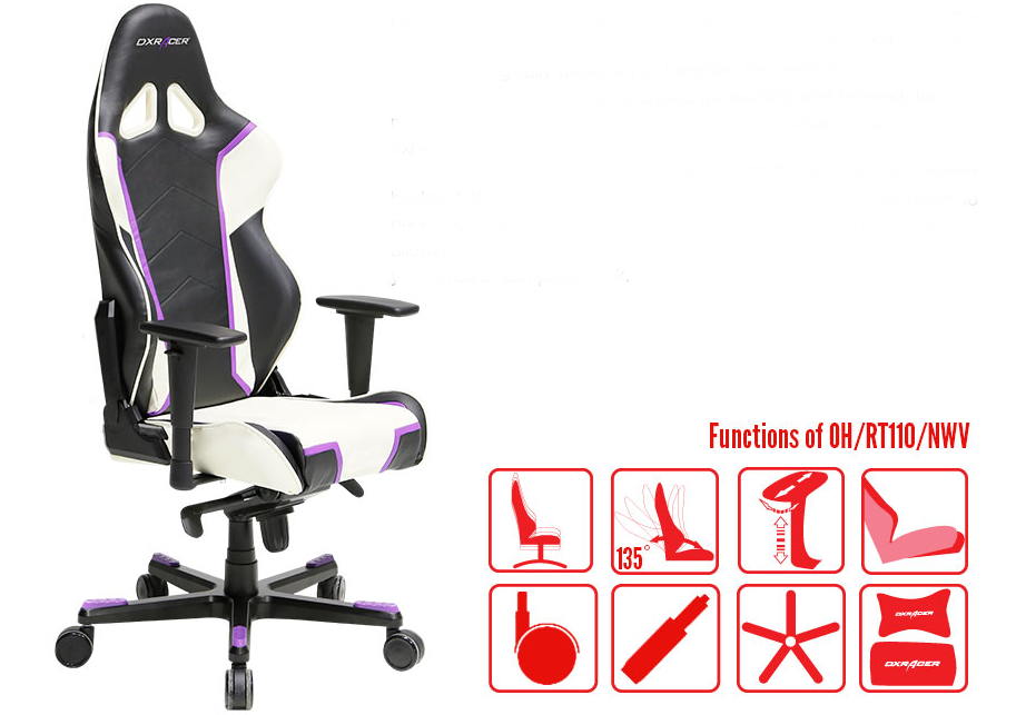 Dxracer OH/RT110/NWV Gaming Chair