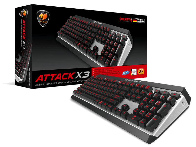 Cougar Attack X3 Premium Gaming Mechanical Keyboard