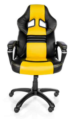 Arozzi Monza Yellow Gaming Chair