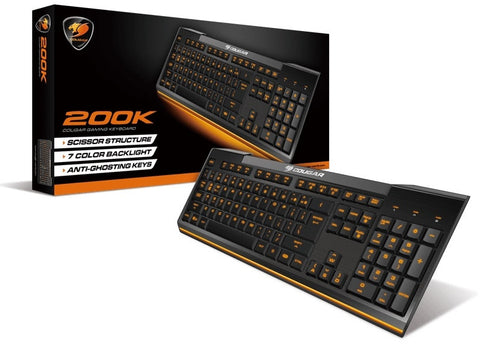 Cougar 200K Scissor 19-Keys USB Gaming Keyboard