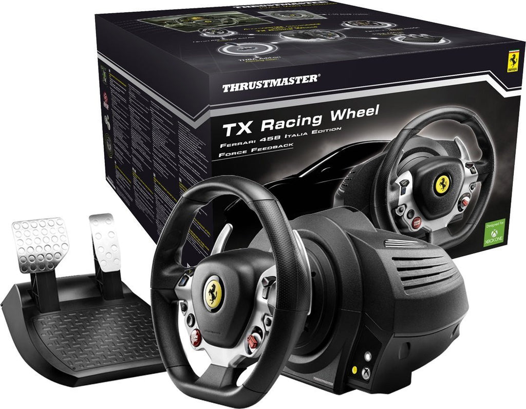 Thrustmaster TX Ferrari 458 Italia Edition Gaming Racing Wheel