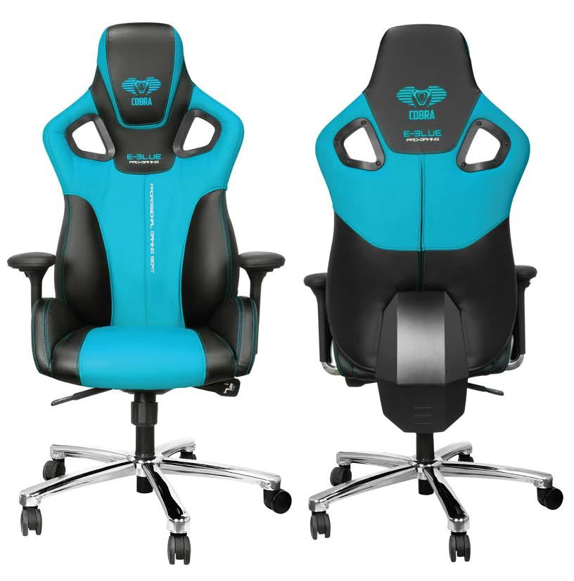 E-Blue Cobra Blue Gaming Chair